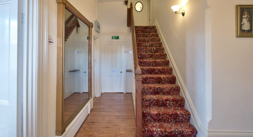 Lyndhurst House hallway, Sandown Isle of Wight