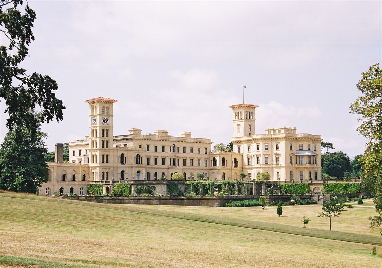 Osborne House From lawn