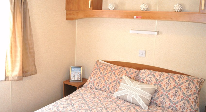 Bembridge Caravan Bedroom
