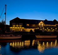 Bargemans Rest by night
