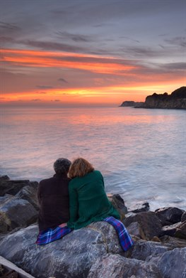 Romantic Sunset at Steephill