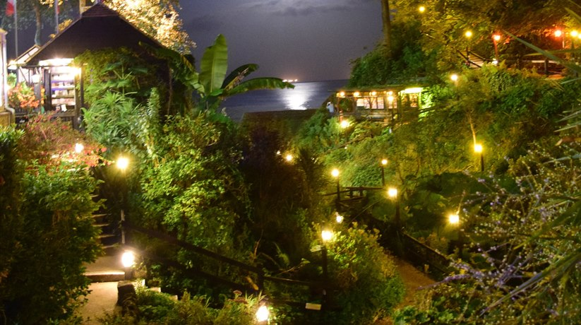 Shanklin Chine - night-time