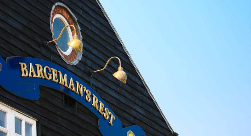 Bargemans Rest outside