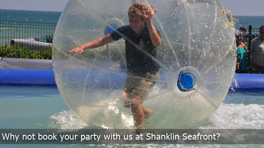 Shanklin Pier zorbing on water.jpg