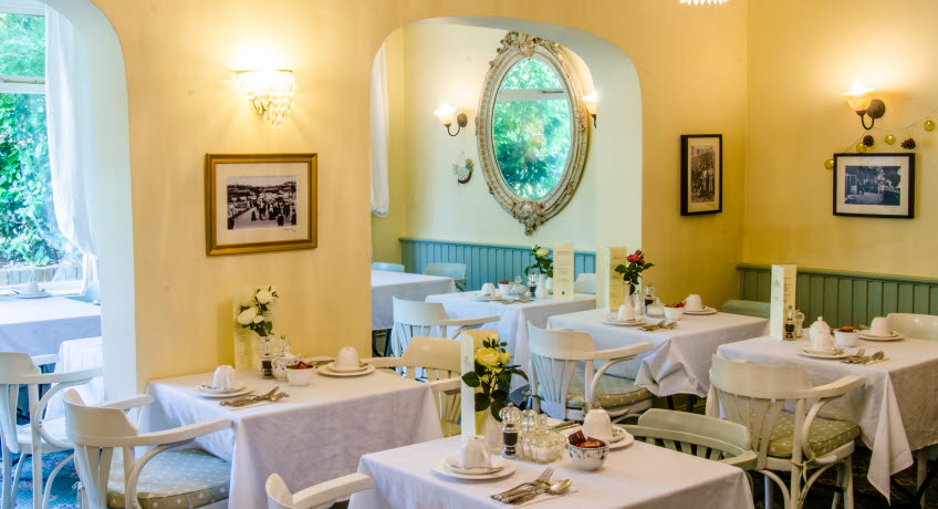 Bedford Lodge dining room, Shanklin, Isle of Wight