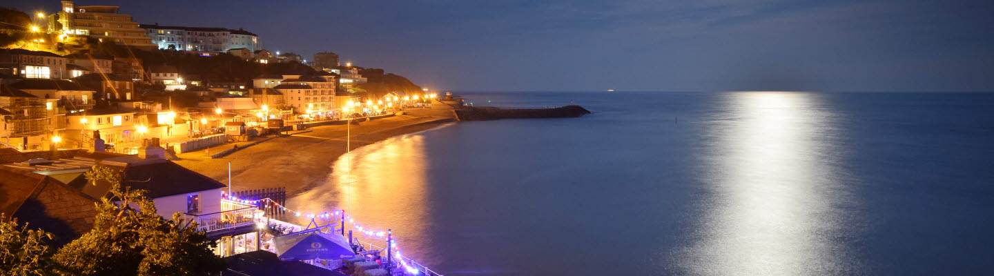 Ventnor Bay by Moonlight