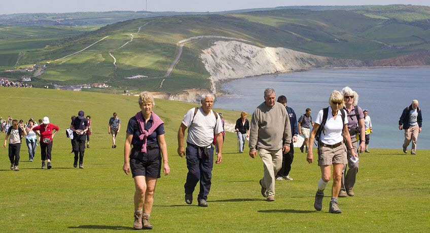 Walk the Wight Tennyson Down