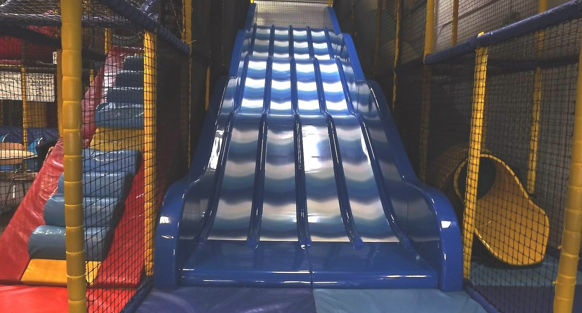 JR Zone blue slide
