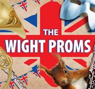 Wight Proms LOGO sepia with layers SQUARE