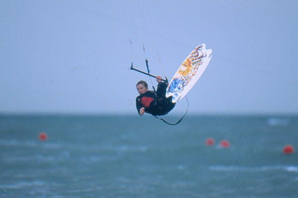 Kitesurfing isle of Wight