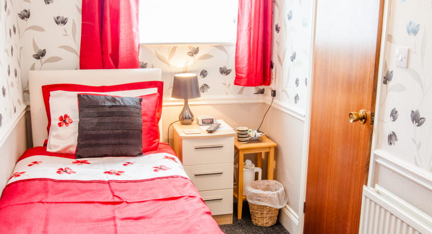 The Parkway single bedroom, Shanklin, Isle of Wight