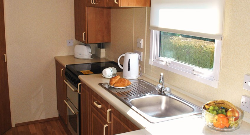 Bembridge Caravan Kitchen
