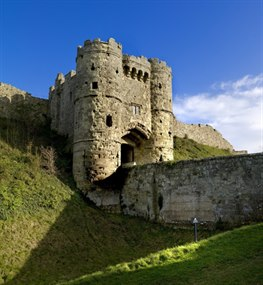 Carisbrooke Castle entrance