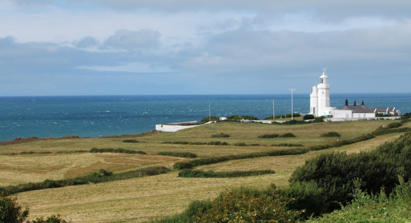 St Catherines lighthouse from east